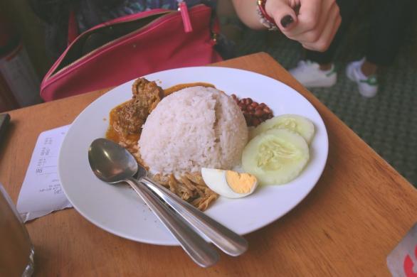 Nasi Lemak Curry