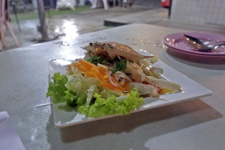 Spicy crab salad